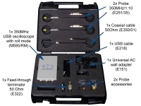 The kit for wide bandwidth measurements content